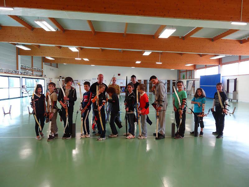 Dernier cours 2013 des jeunes archers